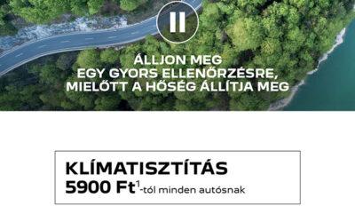 Peugeot tavaszi-nyári szervizakció és játék