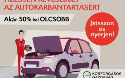 Citroën karbantartás pénztárcabarát megoldásokkal
